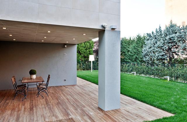 Casa san lazzaro c t for Portico moderno