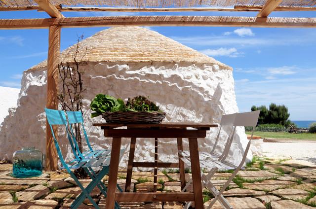 Le case di houzz la bellezza arcaica di un trullo pugliese for Case progettate da architetti