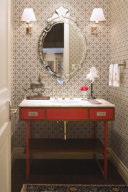 "2010 Colorado Homes & Lifestyles ""Home of the Year"" traditional-powder-room"