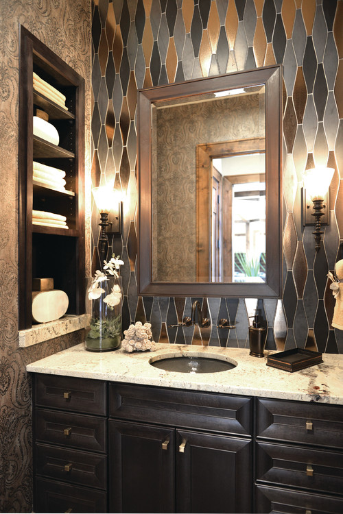 Small bathroom remodel tips - can you see this look in your home?