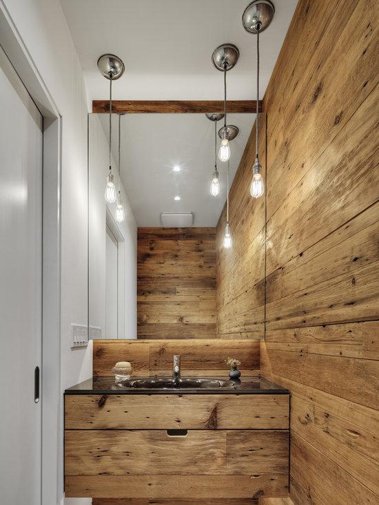 Туалет дерево дизайн