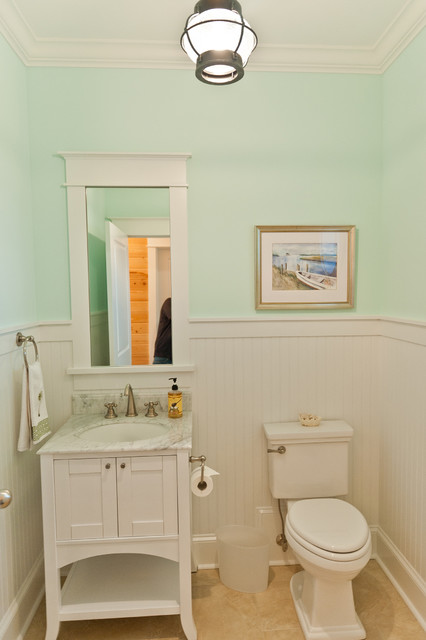 40th Street eclectic powder room