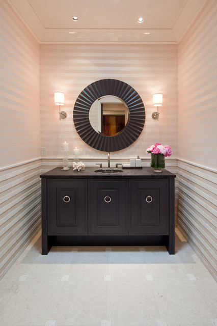 41st Symphony Showhouse Transitional Powder Room