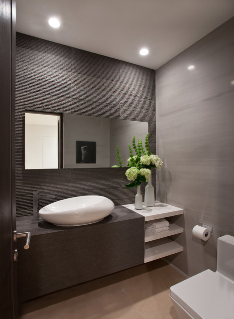 96 Golden Beach - Contemporary - Powder Room - Miami - by SDH Studio on wallpaper powder bathroom, beach powder bathroom, houzz dining room,