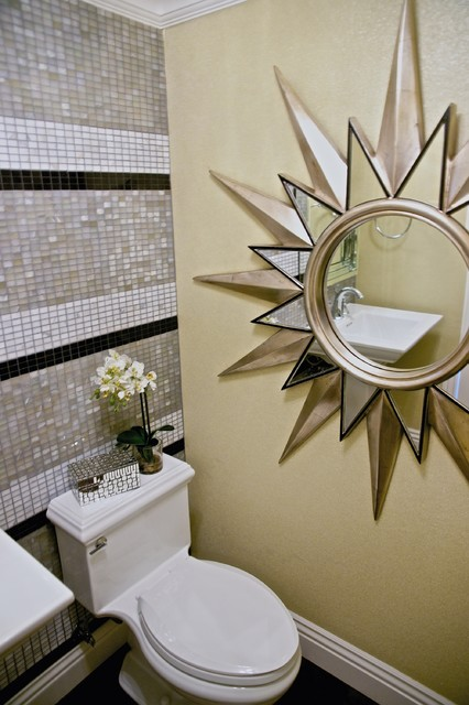 a moment of glamour modern-powder-room