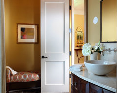 A Playful Palette contemporary-powder-room