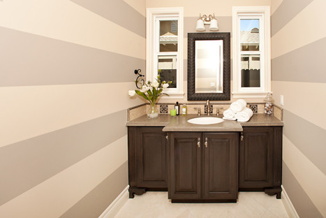 ABC Builder, Inc. traditional-powder-room