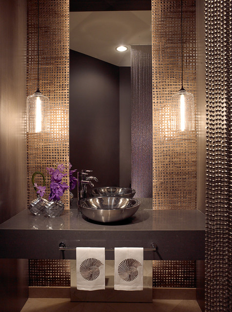Addison reserve 1 delray beach fl residence for Bathroom powder room designs