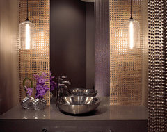 Addison Reserve 1 - Delray Beach, FL Residence contemporary powder room