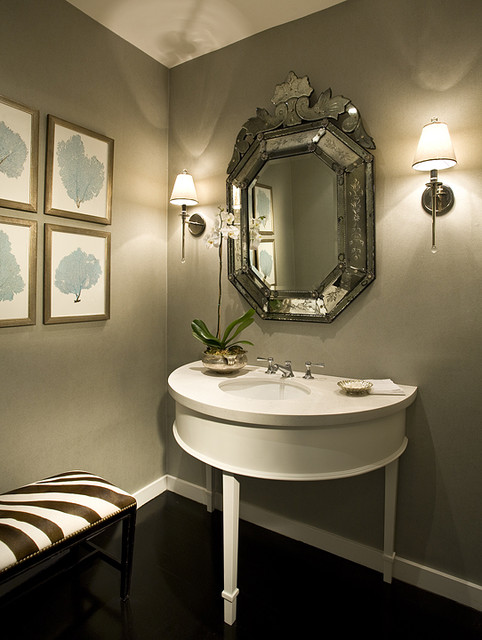 AJP Design System: Normandy Island Residence modern-powder-room