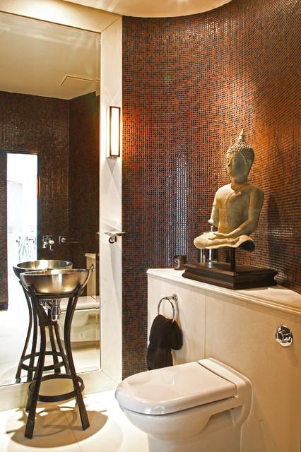 Regents Park residence asian-powder-room