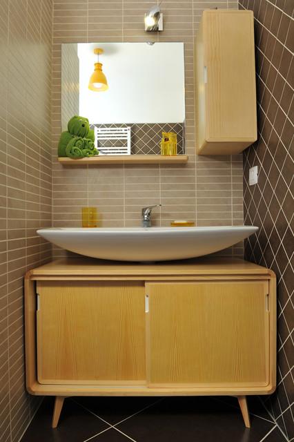 Bagno scandivavo scandinavian bathroom - Bagno di servizio ...