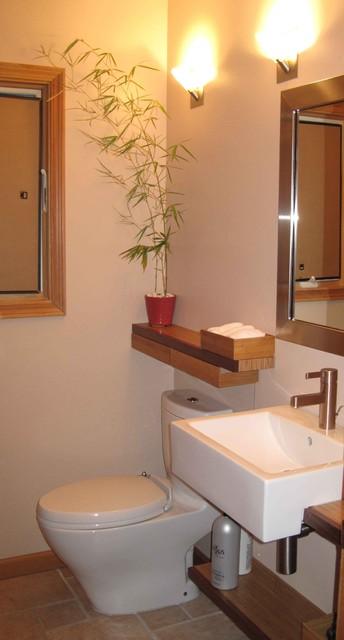 Bath Remodel Asian Powder Room San Francisco By