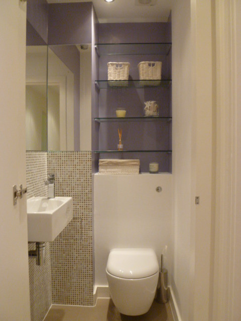 Bathroom and cloakroom refurbishment sloane square london for Bathroom designs square room