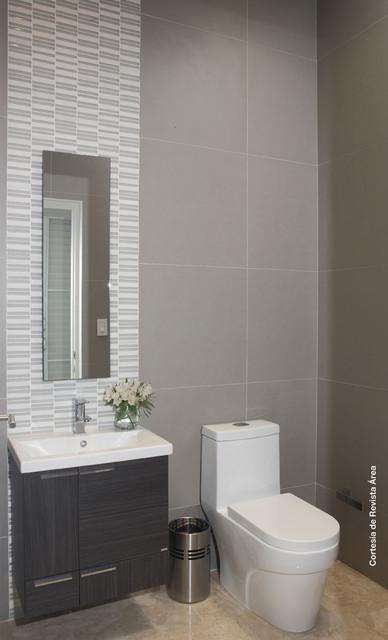 Bathroom modern-powder-room