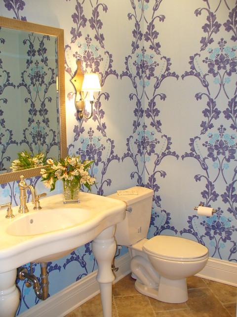 Bathroom contemporary-powder-room