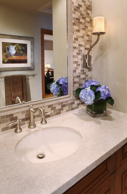 The Tile Behind Mirror Ceramic Wall Paper