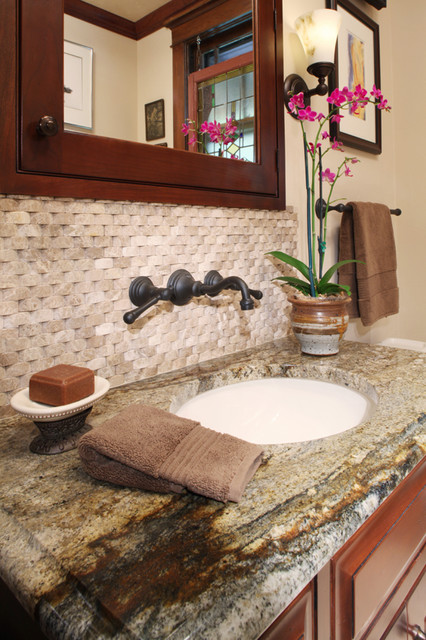 Kitchen Distributors traditional powder room
