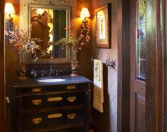 Bathroom traditional-powder-room