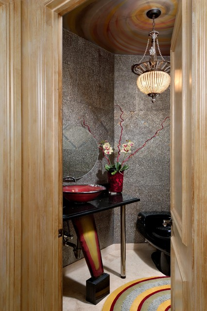 Bathroom Renovations in Fl & D.C. Area contemporary-powder-room