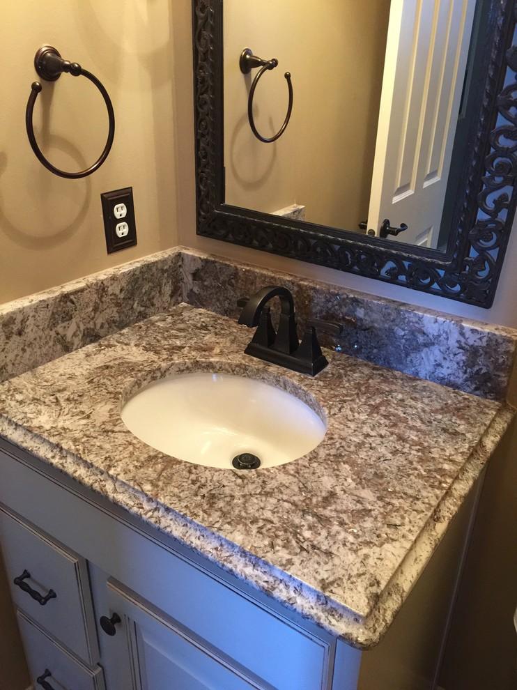Bathroom Vanity Tops - Traditional - Powder Room ...