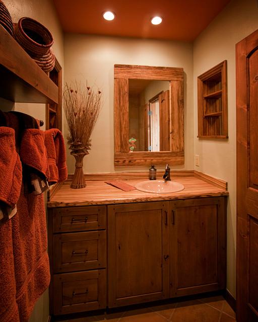 Bathrooms Traditional Powder Room Phoenix By Arizona Designs Kitchens And Baths