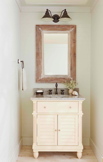Bathrooms Farmhouse Powder Room By Lowe S Home
