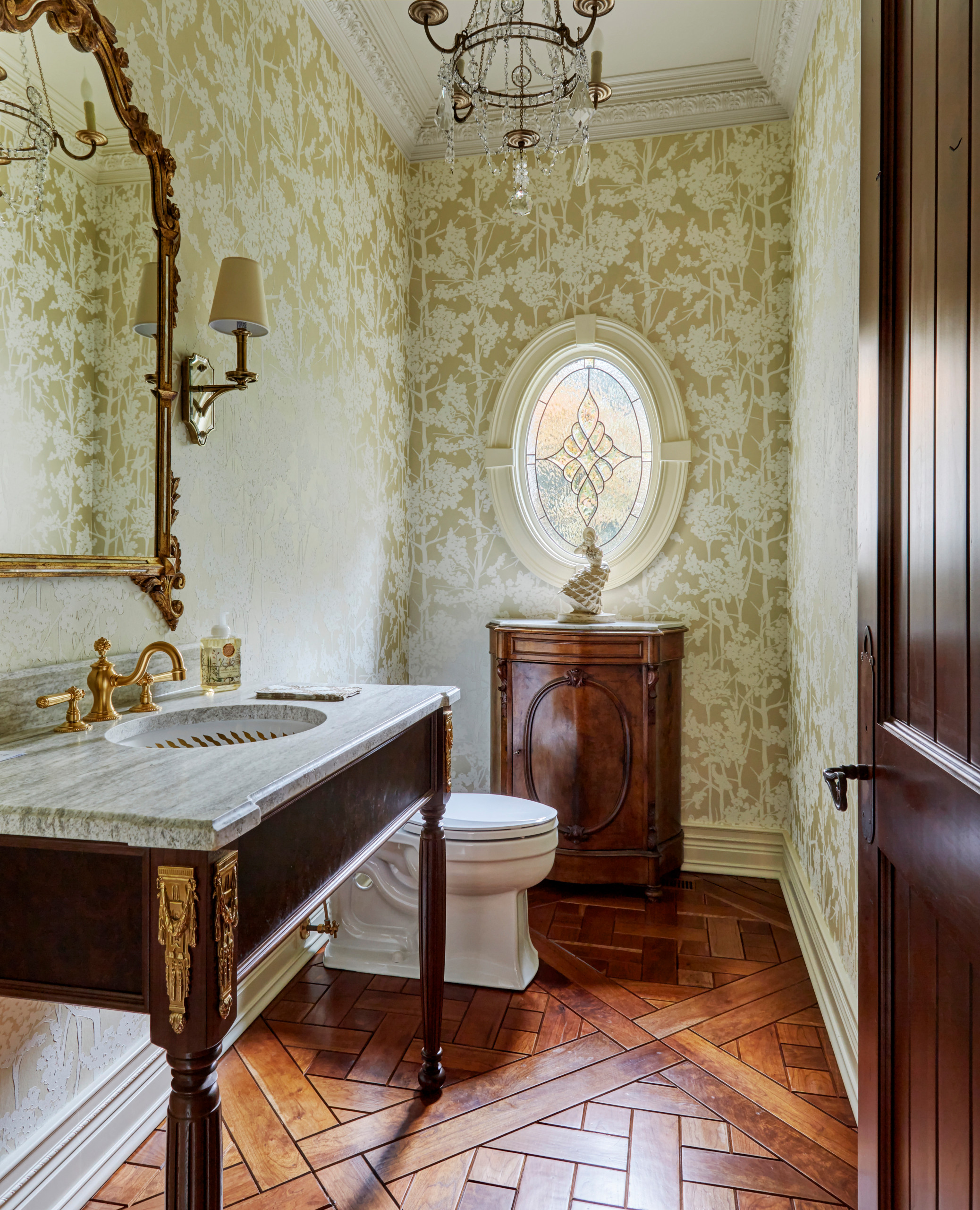 75 Beautiful Traditional Powder Room Pictures Ideas June 2021 Houzz