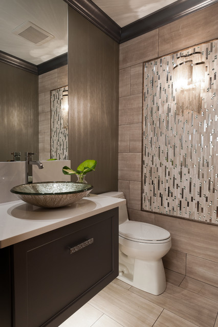 Baths of the year 2013 contemporary powder room st for Houzz magazine