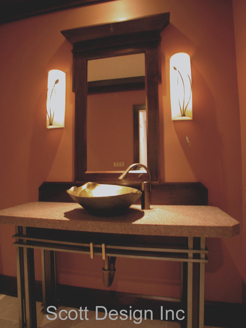 Baths contemporary-powder-room