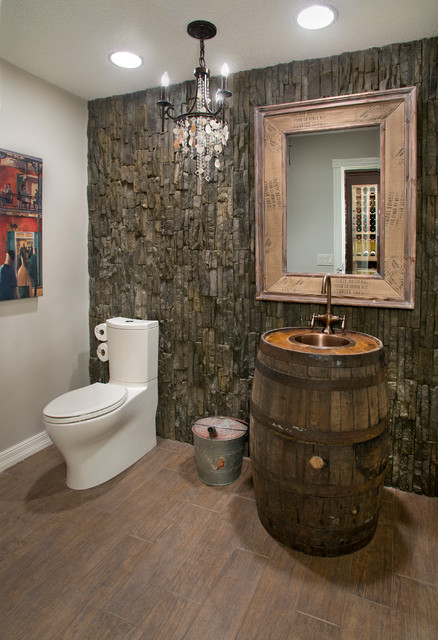 bearspaw interior improvement 2013 rustic powder room. Black Bedroom Furniture Sets. Home Design Ideas