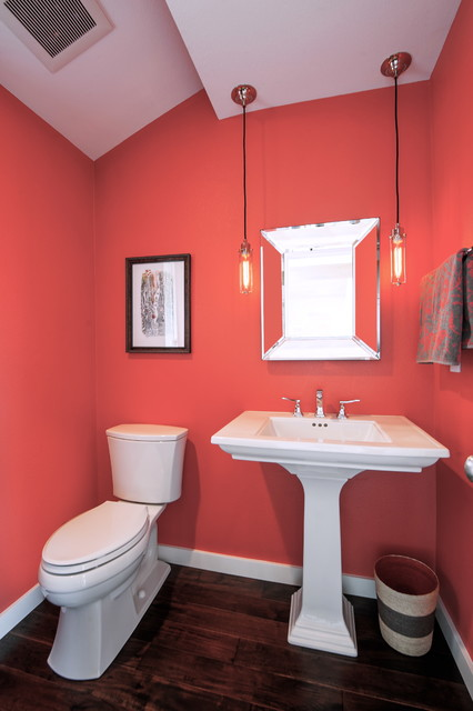 Bellevue Somerset Remodel Transitional Powder Room