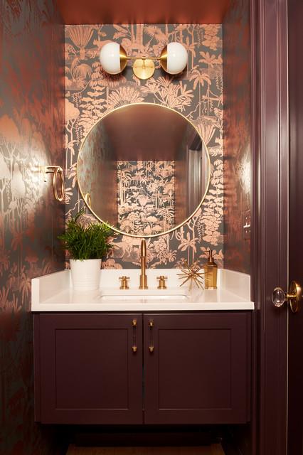 20 Jewel Box Powder Rooms That Shine