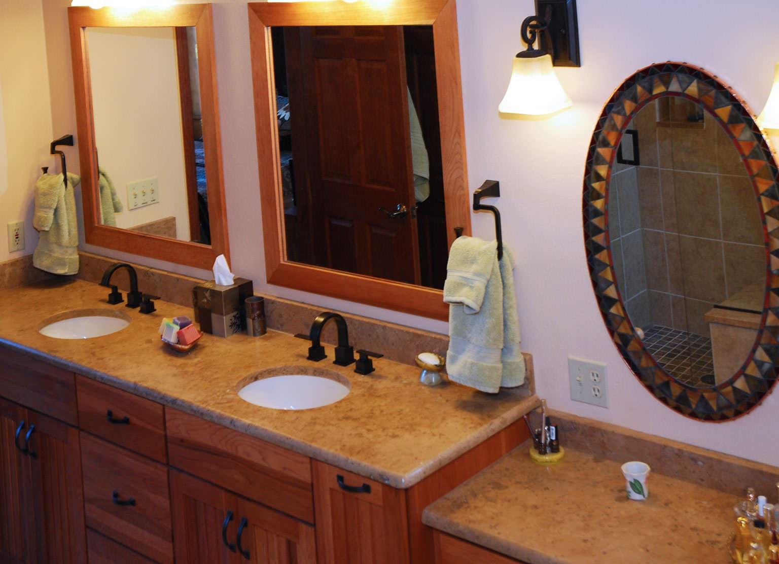 Breckenridge Home Master bath overall