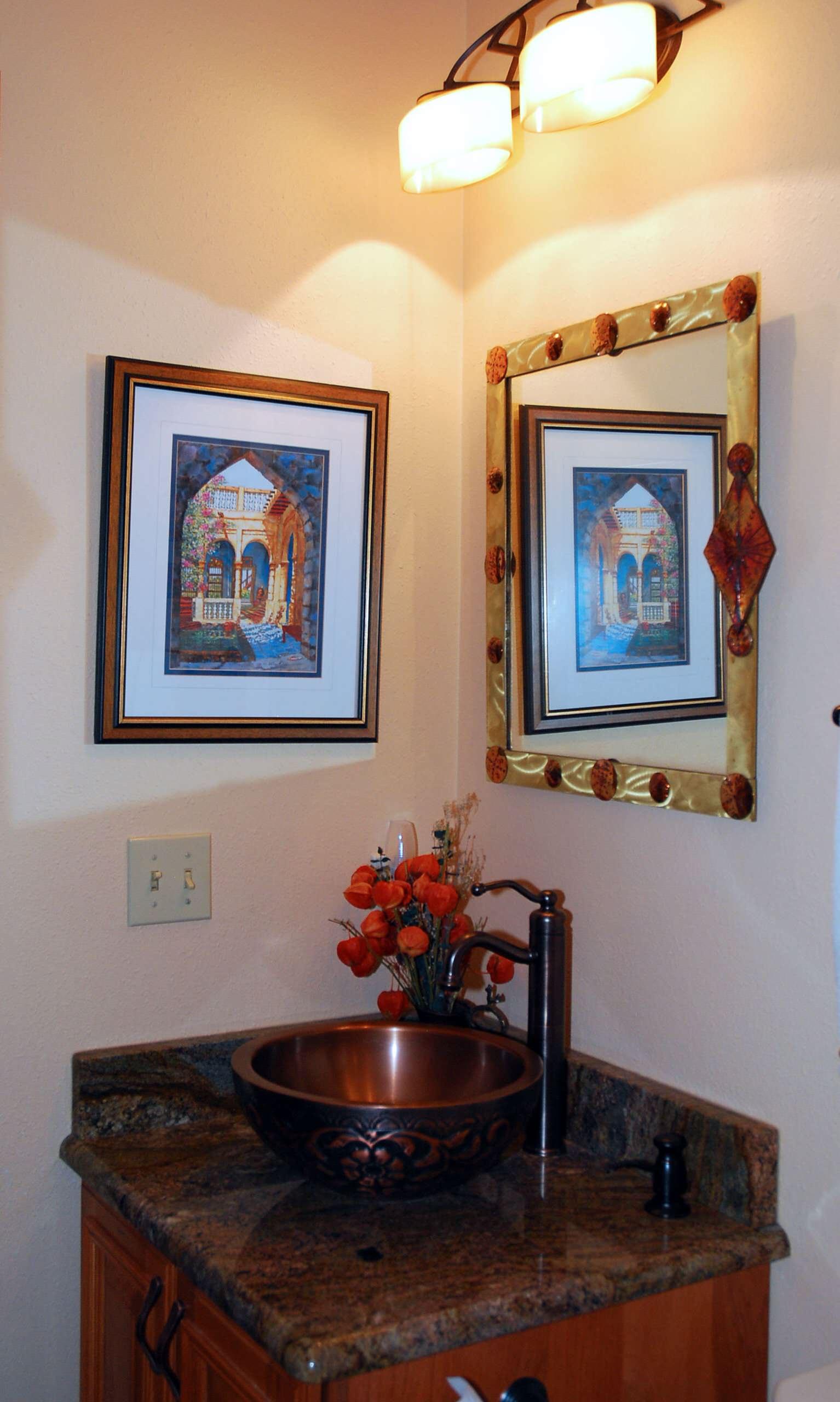 Breckenridge Home- Powder Room- main floor