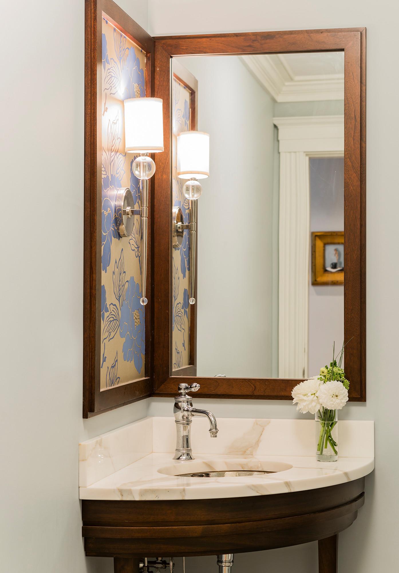 Corner Sink And Mirror Ideas Photos Houzz