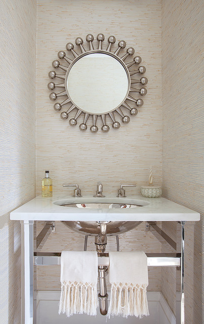 Brooklyn Townhouse   Contemporary   Powder Room   New York   By Cara Woodhouse  Interiors LLC