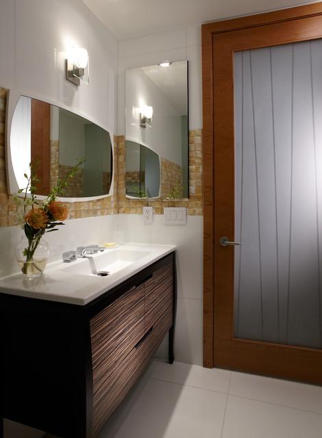 By J Design Group Powder Room Miami Interior Designers Contemporary Modern Powder Room