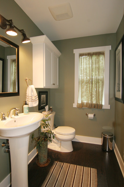 Cape Cod Style Home Traditional Powder Room Grand Rapids By