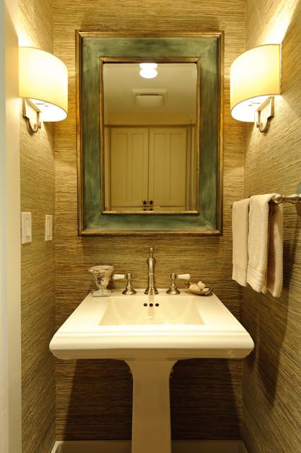 Carmadillo Bathrooms Beach Style Powder Room San