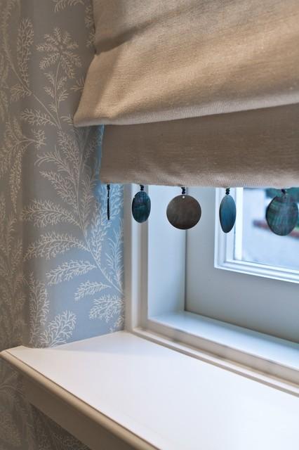 Charmean Neithart Interiors, LLC. traditional-powder-room