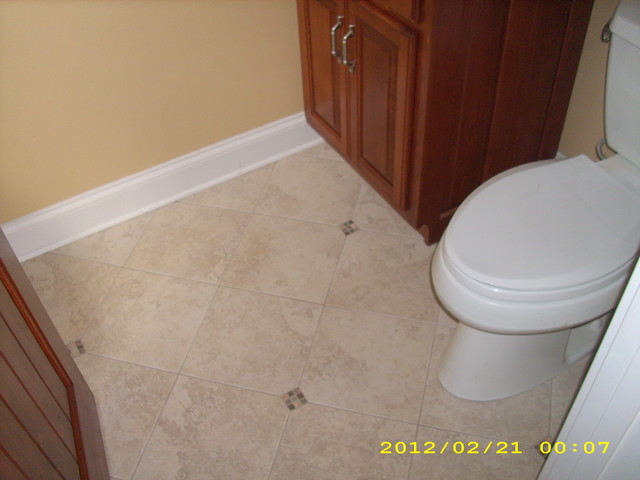 Chattanooga Remodel Traditional Powder Room Other