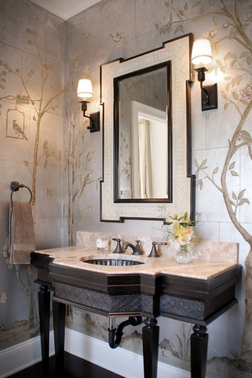 Powder Rooms That Pop