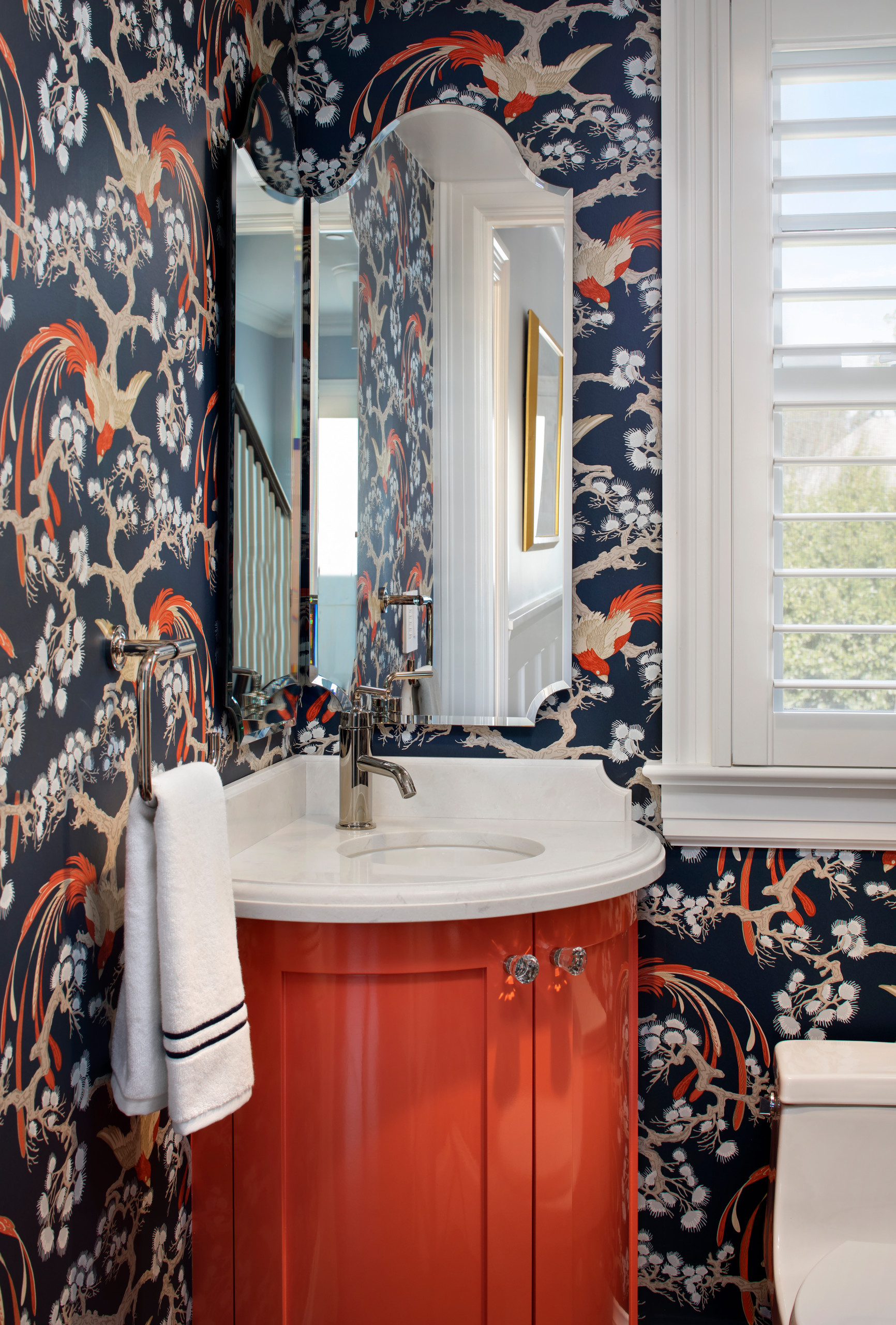 Colonial Powder - Chinoiserie chic