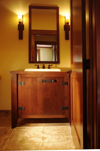 Colorado craftsman scrape off - Mission style bathroom accessories ...