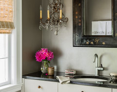 Columbine eclectic powder room