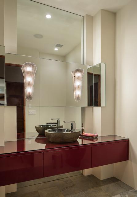 Conrad Residence contemporary-powder-room