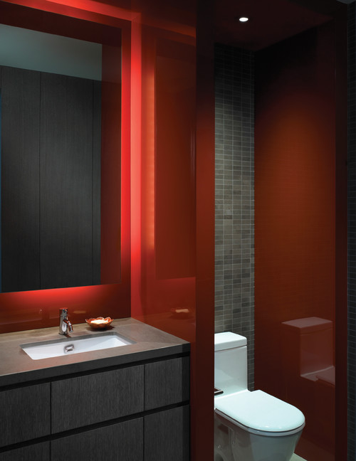 Do You Have A Red Bathroom Let Us See It