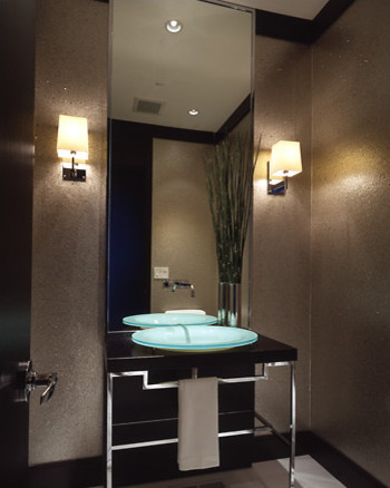 Contemporary Powder Room