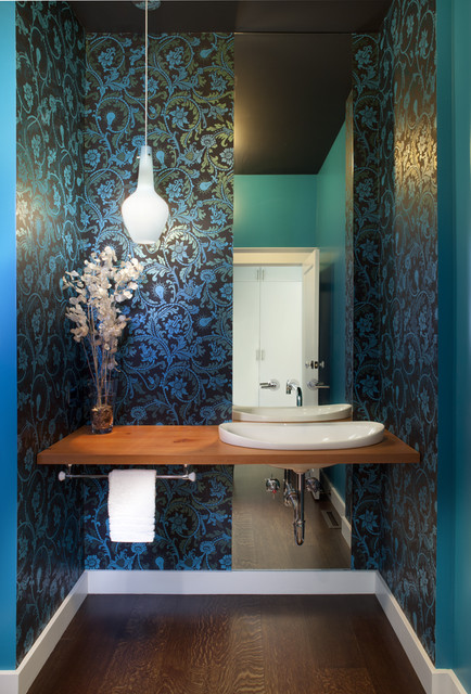 Powder Bath contemporary-powder-room